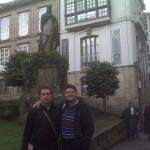 En Santiago con mi amigo Raúl (jasp)