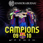 FC Barcelona, Campeón de Liga 09/10