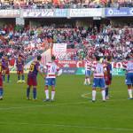 Una tarde de fútbol espectáculo en Granada