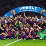 F.C. Barcelona campeón de Liga, Copa y Champions 2015
