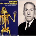 """""""DAGÓN Y OTROS CUENTOS MACABROS"""" de Howard Philips Lovecraft"""