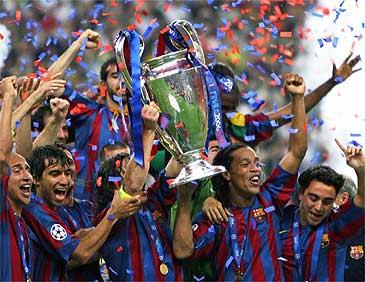 FC Barcelona Campeón de Europa