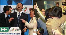 PNV y PP en las elecciones vascas